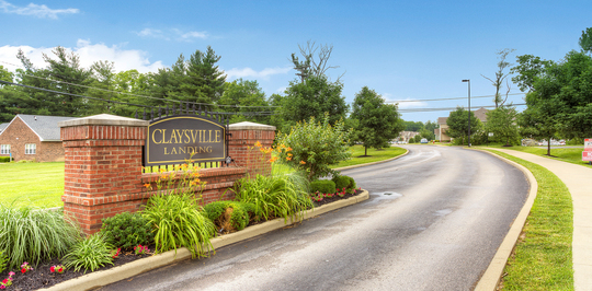 Claysville Landing Entrance